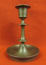 Imperial Russian Time Solid Brass Candle Holder Candlestick.