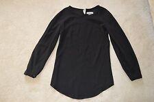 Isabel Marant Etoile Black Back Button Blouse Top Shirt Womens Size 36 UK 8