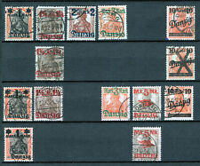 Danzig 1920 - Used Collection From Sc# 25 - 30c