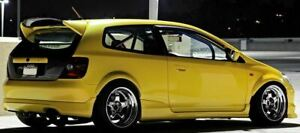 Seibon MG Style Carbon Fiber Rear Spoiler for Honda Civic Si Hatchback EP3 02-05