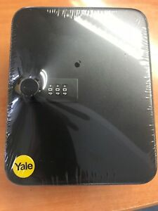 Yale Combination Lock Key Storage Box Cabinet 20 Hooks Wall Mounted Safe