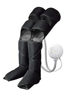 Panasonic Air Foot Massager W-RA96-K Leg Reflex Warming Function Rouge Black