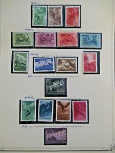 1940-1943 LOT HONGARY HUNGAREN VF MNH VF MLH B10.16 START $0.99