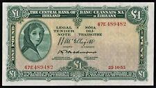 IRELAND  1955  REDMOND   £1   LADY  LAVERY    BANKNOTE