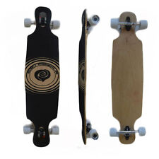 Easy People Drop Through DT-6 Deck Natural Longboard Complete wheels trucks Grip