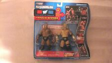 WWF WrestleMania XVII Famous Scenes Series 1 The Rock & Triple H 2000   NEW t671