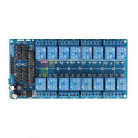 16-Channel 12V Relay Shield Module With optocoupler LM2576 Power supply Arduino