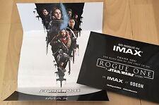 Star Wars Rogue One IMAX Midnight Screening Thank you Ticket Souvenir