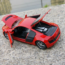 1:32 AUDI R8 GT Diecast Model Car Kid Metal Alloy Pull Back Collection Decor Toy