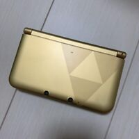 Nintendo 3DS LL XL Zelda Gold Triforce Edition Console Only Japan Import
