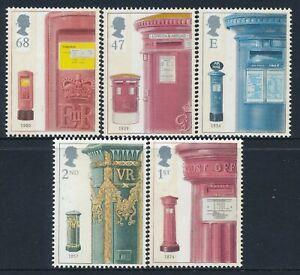 2002 GB PILLAR BOX ANNIVERSARY SET OF 5 FINE MINT MNH SG2316-SG2320