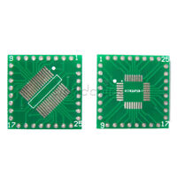 10PCS New QFP/TQFP/LQFP/FQFP/SOP/SSOP32 to DIP Adapter PCB Board Converter