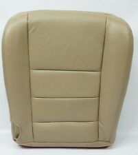 2006 2007 Ford F250 F350 Lariat XL XLT FX4 Driver Bottom Leather Seat Cover TAN