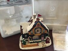 Hawthorne Village ~ Rudolph's Christmas Town ~ Christmas Clock Shop ~ Rare ~Mib