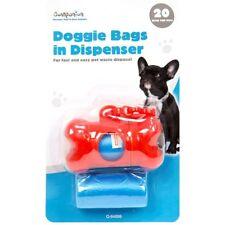40 Doggie déchets sacs distributeur Clip de ceinture Caca CROTTES