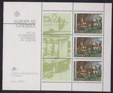 Madeira 1982 Bf 3 Europa Mnh
