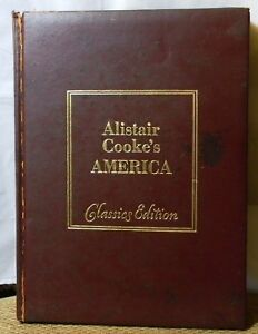 ALISTAIR COOKE'S AMERICAN CLASSICS EDITION 1976 HARDCOVER BOOK SALE!
