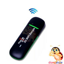 CHIAVETTA PENDRIVE Internet USB Wireless 3G Modem Mobile Wi-Fi Dongle DS*