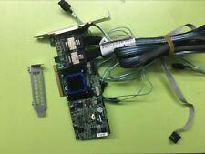 Adaptec Raid Controller ASR-6805T 8 Ports PCIE2 x8 512MB+2*8087 sata 50CM