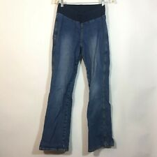 Motherhood Maternity Jeans Size Small Medium Wash Blue Bootcut Denim