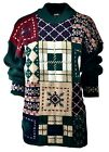 Women's DANA Scott Fall Holiday Party Ugly Christmas Xmas Sweater Sz M A882