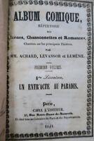 Album comique. Répertoire de scènes, chansonnettes et romances, chantées par ...