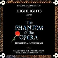Original Cast - Highlights from the Phantom of the Opera CD  Good Condition