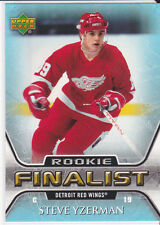 2005-06 UPPER DECK STEVE YZERMAN UD ALL TIME GREATEST #71 RED WINGS