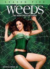WEEDS SEASON 5 (DVD, 2010, 3-Disc Set)