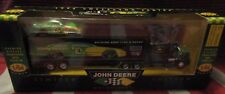 John Deere Nascar 1996 Limited Edition Transporter with Stock Car 97 Chad Little