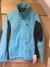 Cross Women's Cloud Rain Jacket - SIze M - Aqua Colour - Brand New w Tags