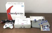 Sega Saturn VIDEO GAME CONSOLE virtual stick Soft set