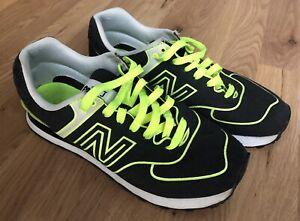 New Balance 220 Yellow Green Sneakers UK 7 Men's Trainers