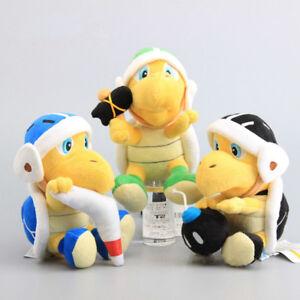 3 Super Mario Bros Boomerang Hammer Bomb Koopa Troopa Turtle Plüsch Plüschtier