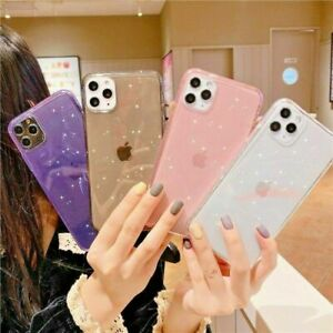 BLING GLITTER Case For iPhone 11 XR X XS Pro Max 7 8 Gel Clear Soft Phone Cover