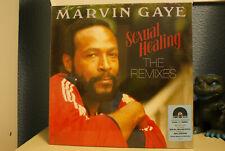 "Marvin Gaye Sexual Healing The Remixes ltd red smoke 12"" vinyl single RSD 2018"