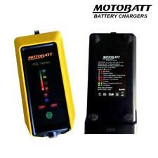 Motobatt 12v Fat Boy Motorcycle Battery Charger 9 Stage 2.0A