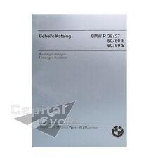 BMW Parts Book Snab Catalog Manual Earles Fork Twins R50 R60 R69 R69S Repair Aid