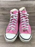 vintage pink converse chuck taylor made in usa Mens  8.5 Womens 10.5 High Top