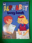 VINTAGE Whitman 1639-23 Alphabet Busy Book 1979