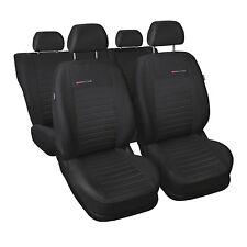 Nissan Terrano I Maßgefertigte Kunstleder Sitzbezüge in Schwarz