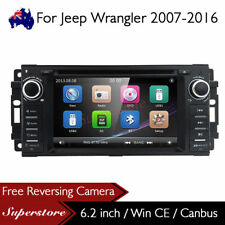 "6.2"" Car DVD GPS Navi Head Unit Stereo Radio For Jeep Wrangler 2007-2016"