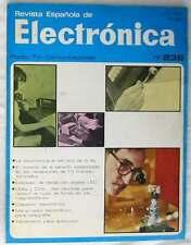 REVISTA ESPAÑOLA DE ELECTRÓNICA - Nº 236 JULIO 1974 - 106 PÁGINAS - VER ÍNDICE