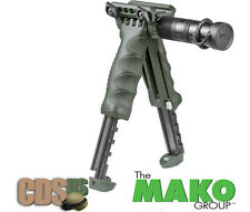MAKO FAB DEFENSE GRIP FOREGRIP BIPOD T-POD + FLASHLIGHT T-PODG2-SL OD GREEN T