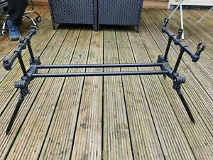 JRC Compact Contact 3 Rod Pod + Carry Case
