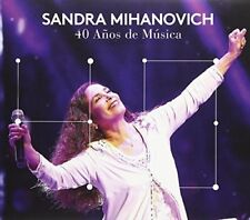 Sandra Mihanovich - 40 Anos De Musica [New CD] With DVD, Argentina - Import