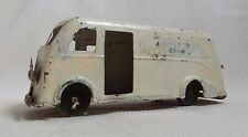 Awesome Rare Pressed Steel White Cloverdale Farms Dairy Truck Toy MARX 1930s