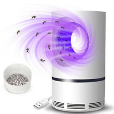 Electric Fly Bug Zapper Mosquito Insect Killer LED Light Trap Pest Control Lamp@