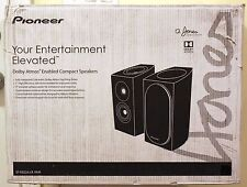 NEW Pioneer SP-BS22A-LR Dolby Atmos Bookshelf Speakers PAIR Andrew Jones Design