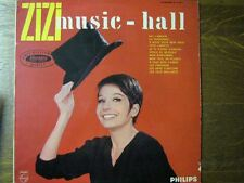 ZIZI JEANMAIRE LP FRANCE DEDICACE HALLYDAY FERRE FERRAT